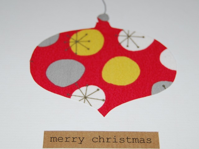 Christmas ornament card (2)