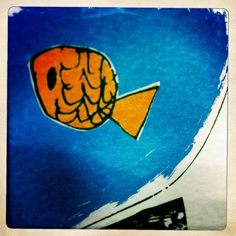 January - a goldfish
