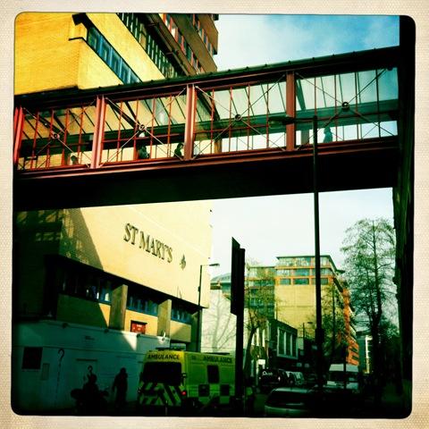 February - a bridge