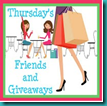 thursdays friends & giveaways button