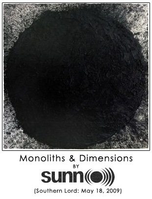 Monoliths & Dimensions by Sunn O)))