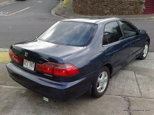 1999 Honda Accord EX 4 Door For Sale Call 808 382 6761