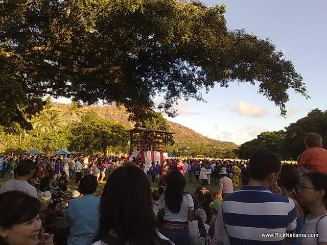 www.RickNakama.com Honolulu Okinawan Festival at Kapiolani Park