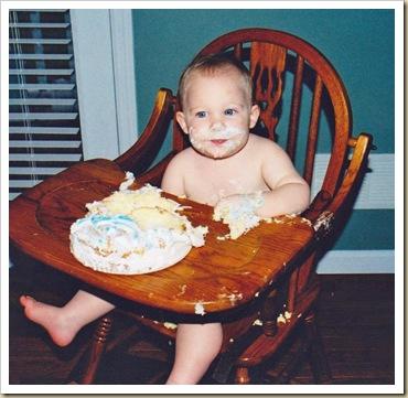 Cake eating 1