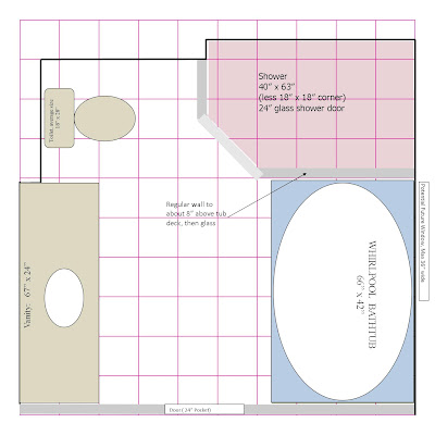 Bathroom floor plans 7 x 11 2017 2018 best cars reviews for Bathroom ideas 10 x 7