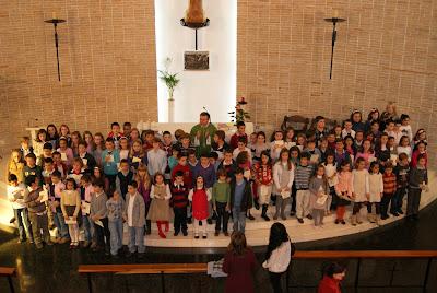 Entrega del CREDO a los niños de 4º de Primaria (Jesús es el Señor III)
