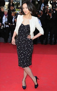 64th cannes film festival tang wei dolce &amp; gabbana