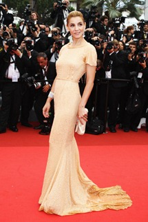64th cannes film festival clotilde courau