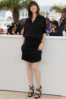 64th cannes film festival Charlotte Gainsbourg