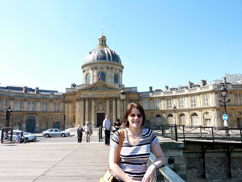 Photo of me in Paris
