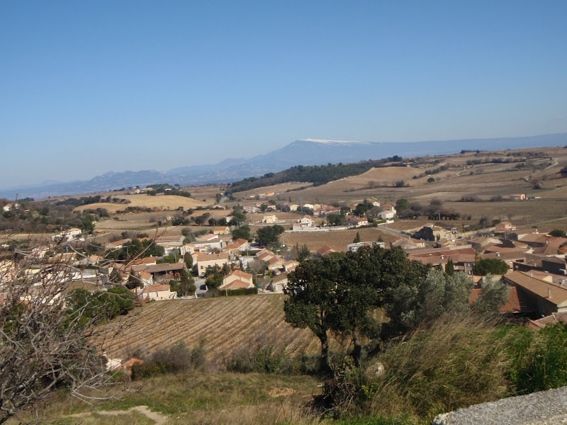 View of Chateauneuf-du-Pape
