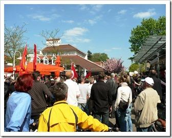 Demonstration gegen Rechtsradikale Winterbach Weiler Rems 17 04 2011