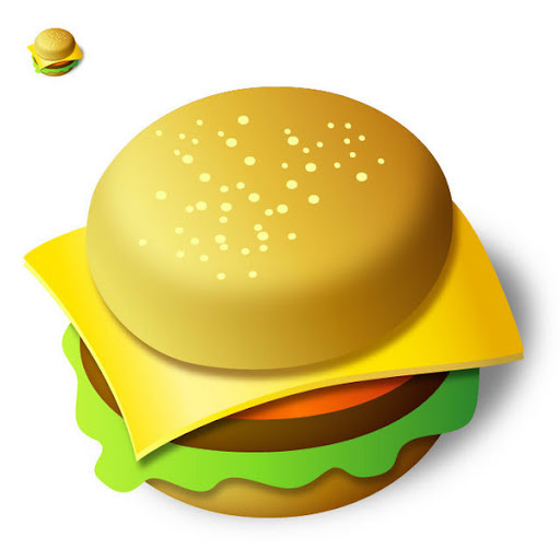 Create a Tasty Burger Icon in Illustrator