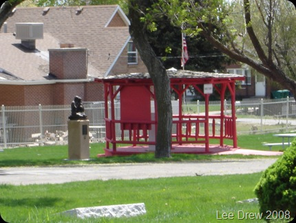 Lehi Cemetery gazebo