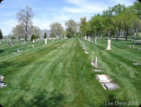 Lehi Cemetery Utah view
