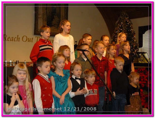 Click the picture to see photos from our Christmas program along with all of our Christmas pics.