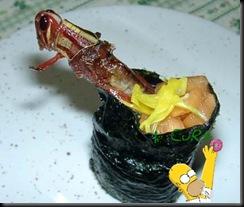 Sushi de Inseto 07