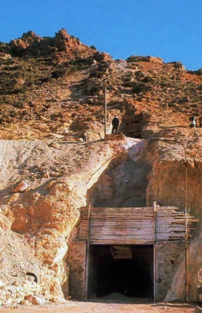 Minas de Rodalquilar: Filón 340