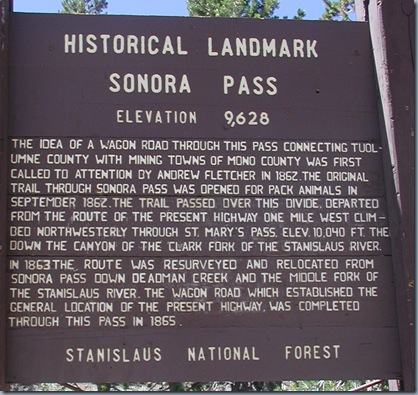 sonora pass a