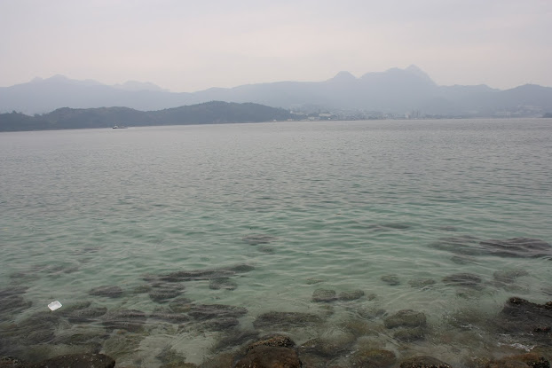 The waters of Sai Kung. Look how clear it is!