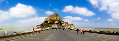Mont Saint Michel en photo panoramique
