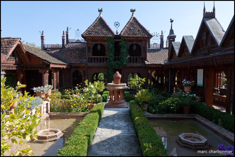 Les jardins secrets marc charbonnier for Cloture de jardin haute savoie