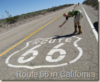 me and route 66 sign