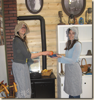prairie girls in kitchen cropped