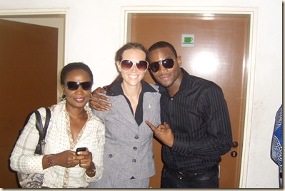 photo with D'banj
