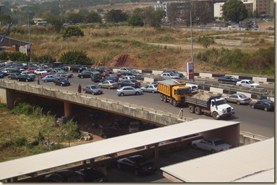 Traffic at Abuja Fest (8)