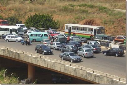 Traffic at Abuja Fest (3)
