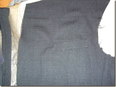 upper welt pocket