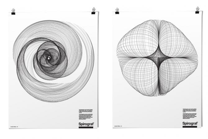 Spirograph Posters by Effektive