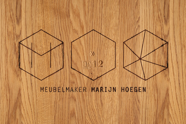 Identity for Marijn Hoegen by Anothercompany
