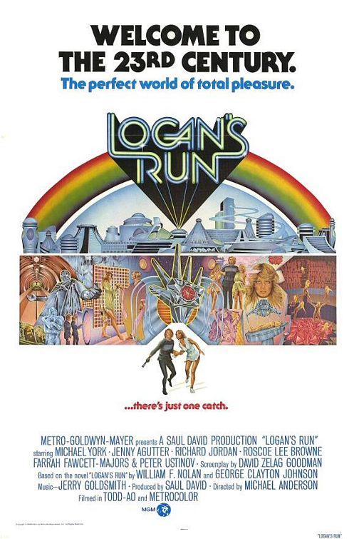 Logan's Run Movie Poster