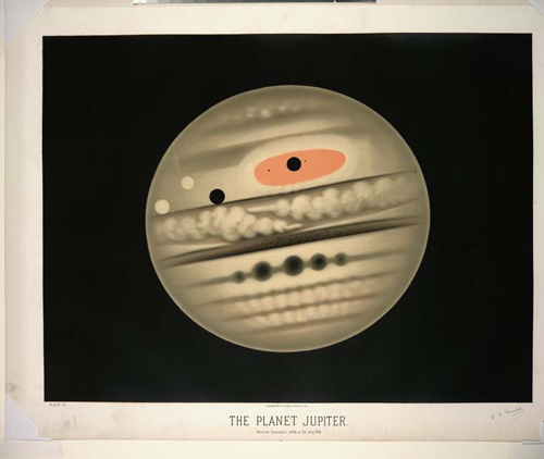 Trouvelot - The Planet Jupiter
