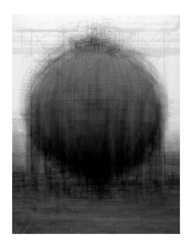 every… Bernd and Hilla Becher Spherical type Gasholders by Idris Khan
