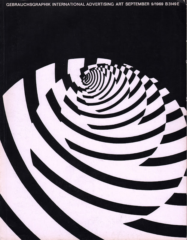 06 Gebrauchsgraphik magazine, Sept. 1969 cover