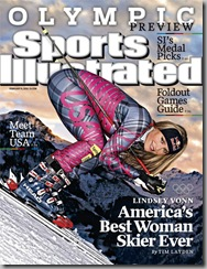 Lindsey Vonn Sports Illustrated Winter Olympics Edition