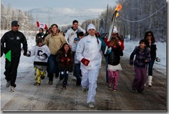 Vancouver 2010 Olympic Torch Relay Smithers