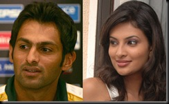 Sayali Bhagat's connection with Shoaib Malik
