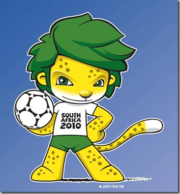FIFA World Cup Football Official mascot