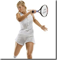 Sharapova's tennis outfits