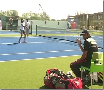 Sania, Shoaib Malik inaugurate tennis academy in Ranchi5