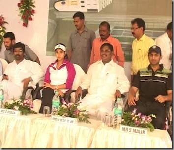 Sania, Shoaib Malik inaugurate tennis academy in Ranchi4