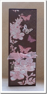 chocolate butterfly notepad