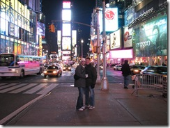 brian & amy in times square.