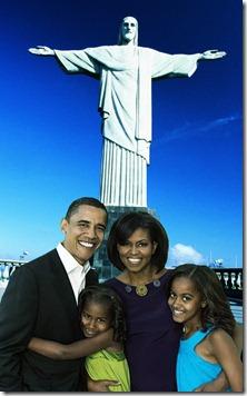 Obama Corcovado