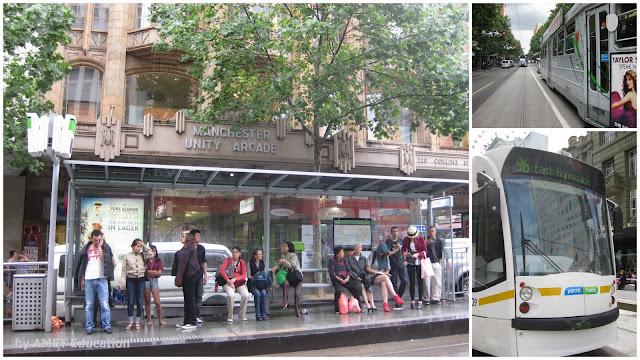 melbourne, tram