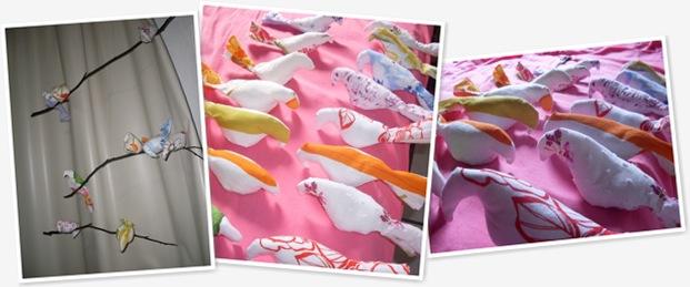Exibir passarinhoss